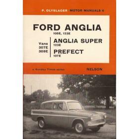 Ford Anglia/Prefect/Vans Motor Manual P. Olyslager 105E/123E/307E/309E Benzine Nelson 53-67 ongebruikt   Engels