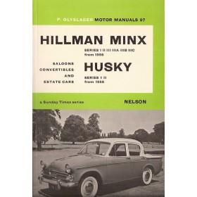 Hillman Minx/Husky Motor Manual P. Olyslager Series 1/2/3 Benzine Nelson 56-68 ongebruikt   Engels