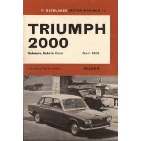 Triumph 2000 Motor Manual P. Olyslager  Benzine Nelson 63-66 ongebruikt   Engels