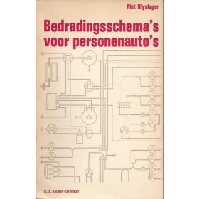 Alle Alle Bedradingsschema's P. Olyslager   Kluwer 57-68 met gebruikssporen   Nederlands