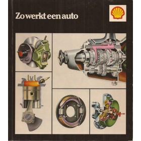 Shell Zo werkt een auto, overzichtsboek, 85, Shell, met gebruikssporen, Nederlands