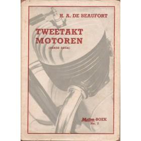 Tweetakt Motoren, studieboek, 55, H. de Beaufort, met gebruikssporen, Nederlands