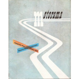 General Motors Motorama, tijdschrift, oct 57, met gebruikssporen Nederlands