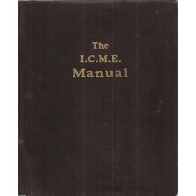 Alle modellen The I.C.M.E. Manual Service interval reparatietijden onderdeelnummers 1975 Palgrave met gebruikssporen Engelstalig