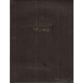 Alle modellen The I.C.M.E. Manual Service interval reparatietijden onderdeelnummers 1976 Palgrave met gebruikssporen Engelstalig