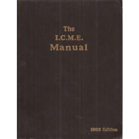 Alle modellen The I.C.M.E. Manual Service interval reparatietijden onderdeelnummers 1983 Palgrave met gebruikssporen Engelstalig
