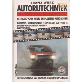 Autorijtechniek, studieboek, 89, F. Wurz, Kluwer, KNAC, ongebruikt, Nederlands