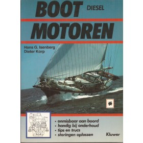 Bootmotoren Diesel, studieboek, 90, H. Isenberg, Kluwer, ongebruikt, Nederlands
