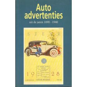 Alle modellen Autoadvertenties 1890-1940 overzichtsboek F. van der Heul Elmar 91 ongebruikt Nederlands