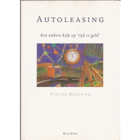 Autoleasing studieboek P. Nouwen Kluwer 89 ongebruikt Nederlands
