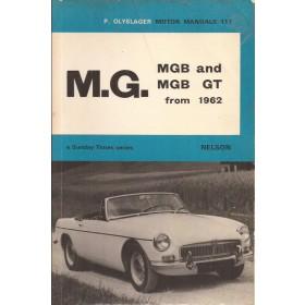 MGB MGB GT Motor Manual P. Olyslager Benzine Nelson 62-67 met gebruikssporen Engels
