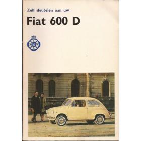 Fiat 600 Zelf sleutelen aan P. Bos  Benzine ANWB 1963-1965 ongebruikt Nederlands 1963 1964 1965