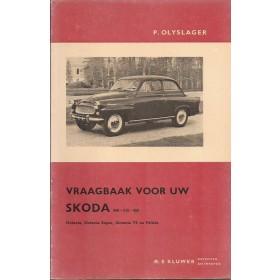 Skoda 440/445/450/Octavia/Felicia Vraagbaak P. Olyslager  Benzine Kluwer 56-65 ongebruikt   Nederlands
