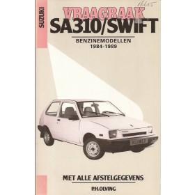 Suzuki Swift Vraagbaak P. Olving  Benzine Kluwer 84-89 met gebruikssporen   Nederlands