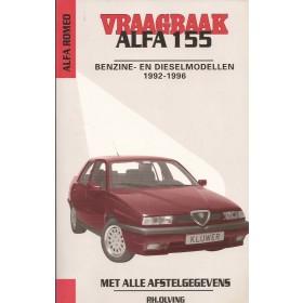 Alfa Romeo 155 Vraagbaak P. Olving  Benzine/Diesel Kluwer 92-96 ongebruikt   Nederlands
