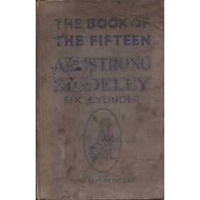 Armstrong Siddeley 15HP six Instructieboekje   Benzine Fabrikant 23 met gebruikssporen lichte vochtschade  Engels