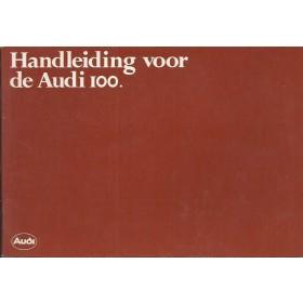 Audi 100 Instructieboekje   Benzine Fabrikant 81 ongebruikt   Nederlands