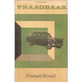 Triumph Herald Vraagbaak P. Olyslager  Benzine Kluwer 61-66 ongebruikt folie kaft verkleurd  Nederlands