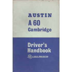 Austin A60 Cambridge Instructieboekje   Benzine Fabrikant 65 ongebruikt   Engels