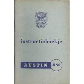 Austin A90 Six Westminster Instructieboekje   Benzine Fabrikant 56 ongebruikt   Nederlands
