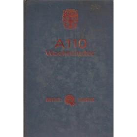 Austin A110 Westminster Instructieboekje  Mk2 Benzine Fabrikant 63 met gebruikssporen   Engels