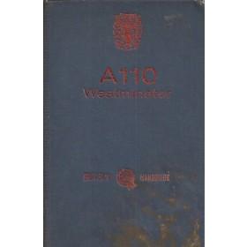 Austin A110 Westminster Instructieboekje  Mk2 Benzine Fabrikant 64 met gebruikssporen   Engels