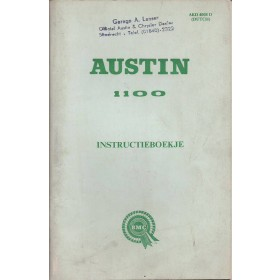 Austin 1100 Instructieboekje   Benzine Fabrikant 68 ongebruikt   Nederlands