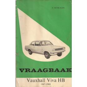 Vauxhall Viva HB Vraagbaak P. Olyslager  Benzine Kluwer 67-68 met gebruikssporen vette vingers  Nederlands