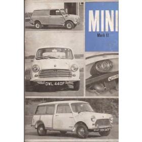 Austin Mini Instructieboekje  Mk2 Benzine Fabrikant 67 ongebruikt   Engels