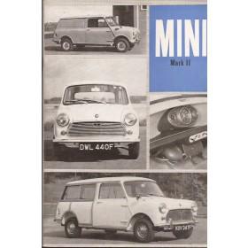 Austin Mini Instructieboekje  Mk2 Benzine Fabrikant 68 ongebruikt   Engels