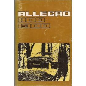 Austin Allegro Instructieboekje   Benzine Fabrikant 76 met gebruikssporen   Nederlands