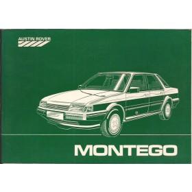 Austin Montego Instructieboekje   Benzine Fabrikant 84 met gebruikssporen   Nederlands