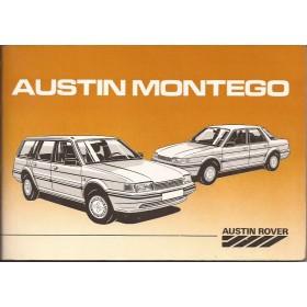Austin Montego Instructieboekje   Benzine Fabrikant 86 ongebruikt   Nederlands
