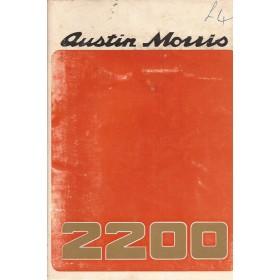 Austin Princess Instructieboekje  2200 Benzine Fabrikant 73 ongebruikt   Engels