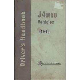 Austin J4M10 Instructieboekje   Benzine Fabrikant 63 met gebruikssporen   Engels