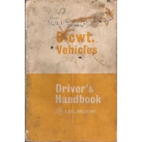 Austin 6-cwt Instructieboekje   Benzine Fabrikant 67 met gebruikssporen losse, lelijke kaft  Engels