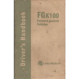 Austin FGK100 Instructieboekje   Benzine Fabrikant 63 met gebruikssporen   Engels