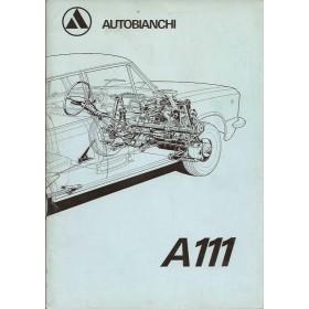 Autobianchi A111 Instructieboekje   Benzine Fabrikant 70 ongebruikt   Nederlands