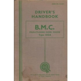 BMC Dieselengine OEA Instructieboekje   Diesel Fabrikant 54 ongebruikt   Engels