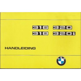 BMW Diverse Instructieboekje  type E21 Benzine Fabrikant 75 met gebruikssporen aantal losse pagina's  Nederlands