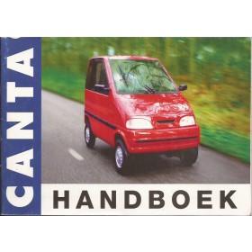 Canta Canta Instructieboekje   Benzine Fabrikant 02 ongebruikt   Engels