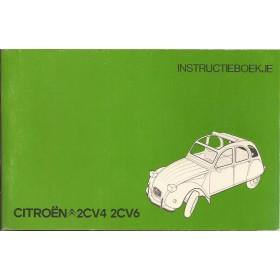 Citroen 2CV4/2CV6 Instructieboekje   Benzine Fabrikant 77 ongebruikt   Nederlands