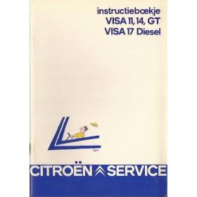 Citroen Visa Instructieboekje   Benzine/Diesel Fabrikant 84 ongebruikt   Nederlands