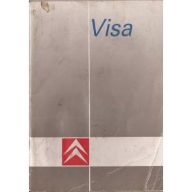 Citroen Visa Instructieboekje   Benzine/Diesel Fabrikant 88 met gebruikssporen   Nederlands
