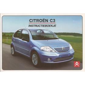 Citroen C3 Instructieboekje   Benzine/Diesel Fabrikant 02 ongebruikt in originele map  Nederlands
