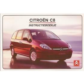 Citroen C8 Instructieboekje   Benzine/Diesel Fabrikant 02 ongebruikt   Nederlands