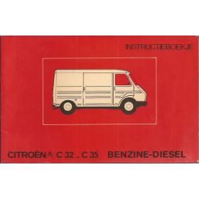 Citroen C32/C35 Instructieboekje   Benzine/Diesel Fabrikant 77 met gebruikssporen   Nederlands