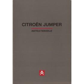 Citroen Jumper Instructieboekje   Benzine/Diesel Fabrikant 96 ongebruikt   Nederlands