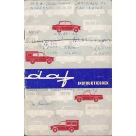 DAF Daffodil Instructieboekje   Benzine Fabrikant 64 met gebruikssporen diverse notities  Nederlands