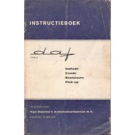 DAF Daffodil Instructieboekje   Benzine Fabrikant 67 met gebruikssporen   Nederlands
